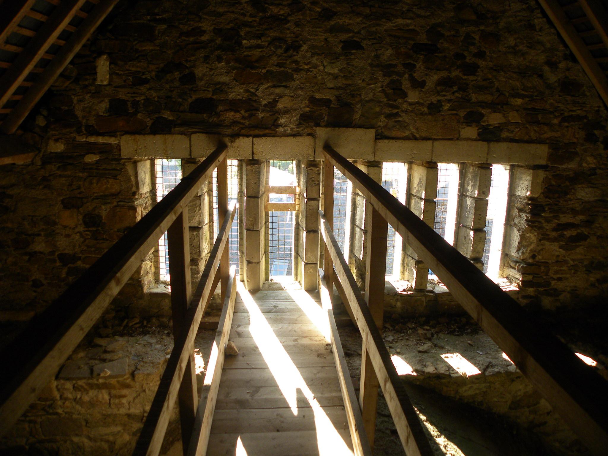 Ouverture effectuée dans l'église de Fay de Bretagne